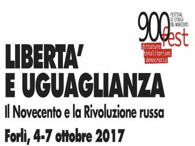 900fest - IV edizione - Il Novecento e la Rivoluzione russa (Forlì, 4-7 ottobre 2017)