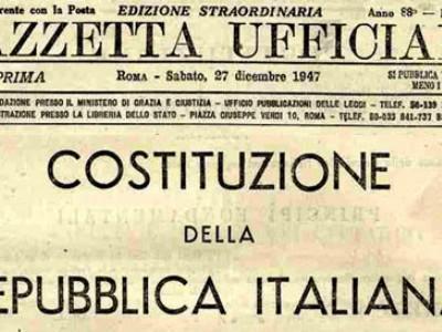 Settant'anni di costituzione. Le aspirazioni, i diritti sanciti, il percorso della democrazia e delle libertà