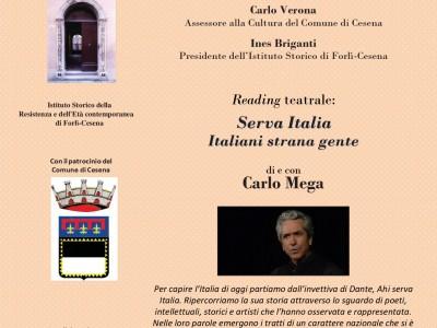 Una Serata a Palazzo Nadiani: storia, memoria e parole per l'anniversario della liberazione di Cesena, 20 ottobre 1944 - 2019