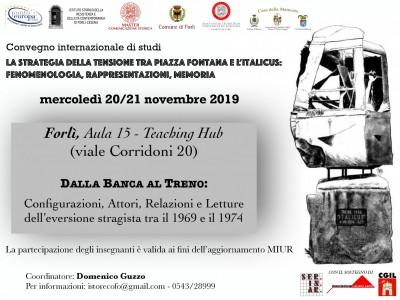 La strategia della Tensione fra piazza Fontana e l'Italicus. Convegno internazionale