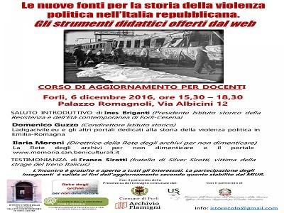 Le nuove fonti per la storia della violenza politica nell'Italia repubblicana