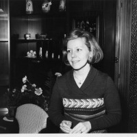 Maria Sartini nel 1974